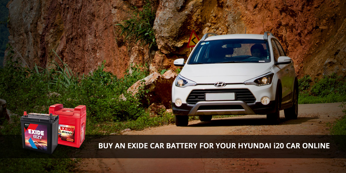 An Exide Car Battery For Your Hyundai I20