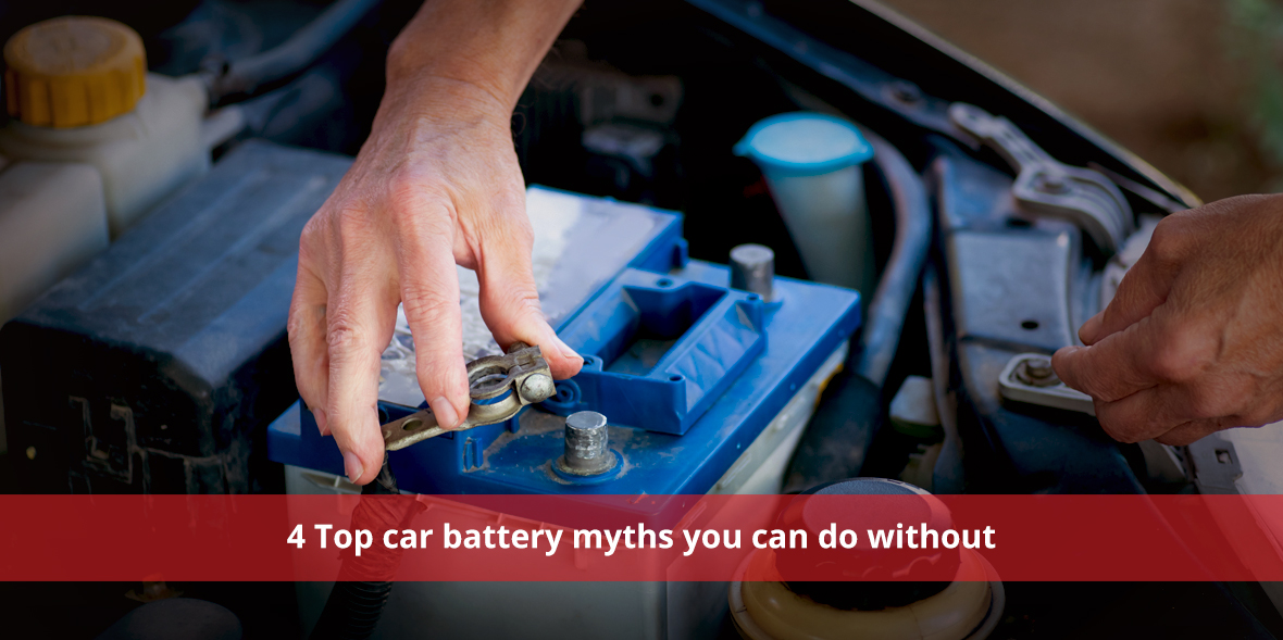 4 Top car battery myths you can do without