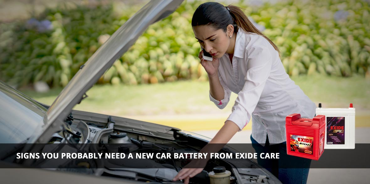 Signs you probably need a new car battery from Exi