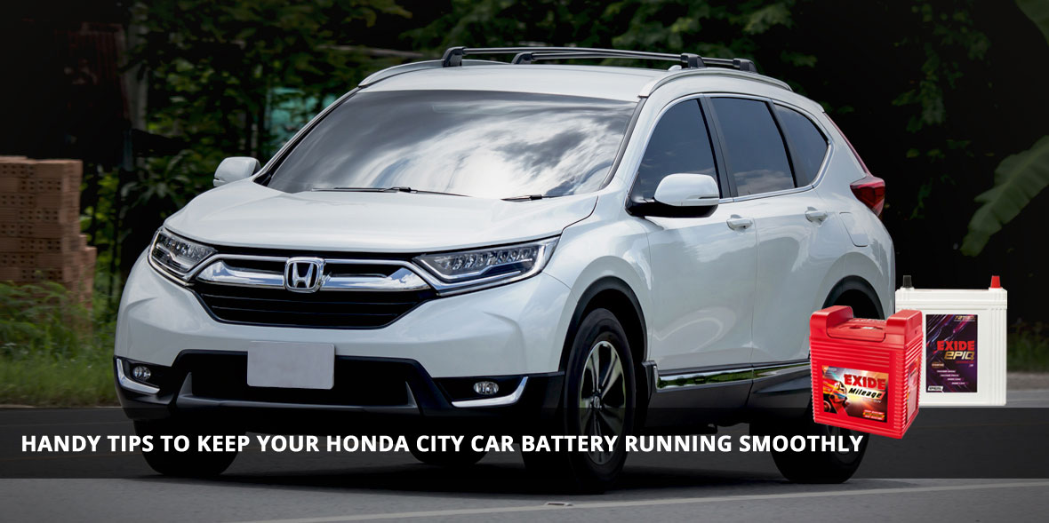 Handy tips to keep your Honda City car battery run