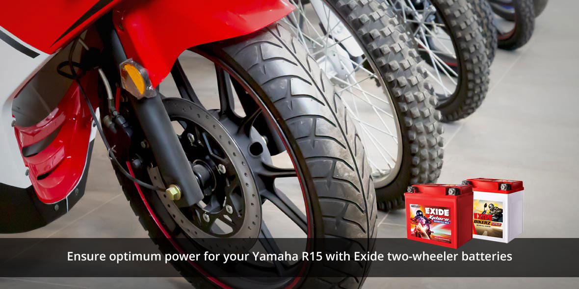 Ensure optimum power for your Yamaha R15 with Exid