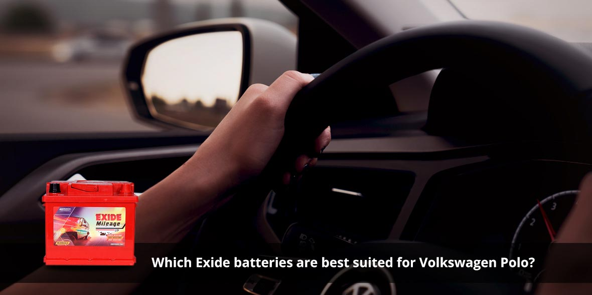 Which Exide batteries are best suited for Volkswag