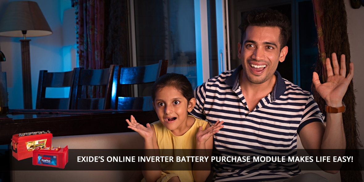 Exide's Online Inverter Battery Purchase Module Ma