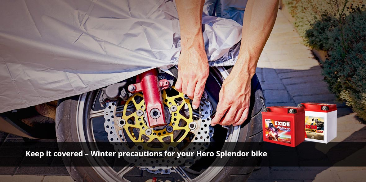 Keep it covered - Winter precautions for your Hero