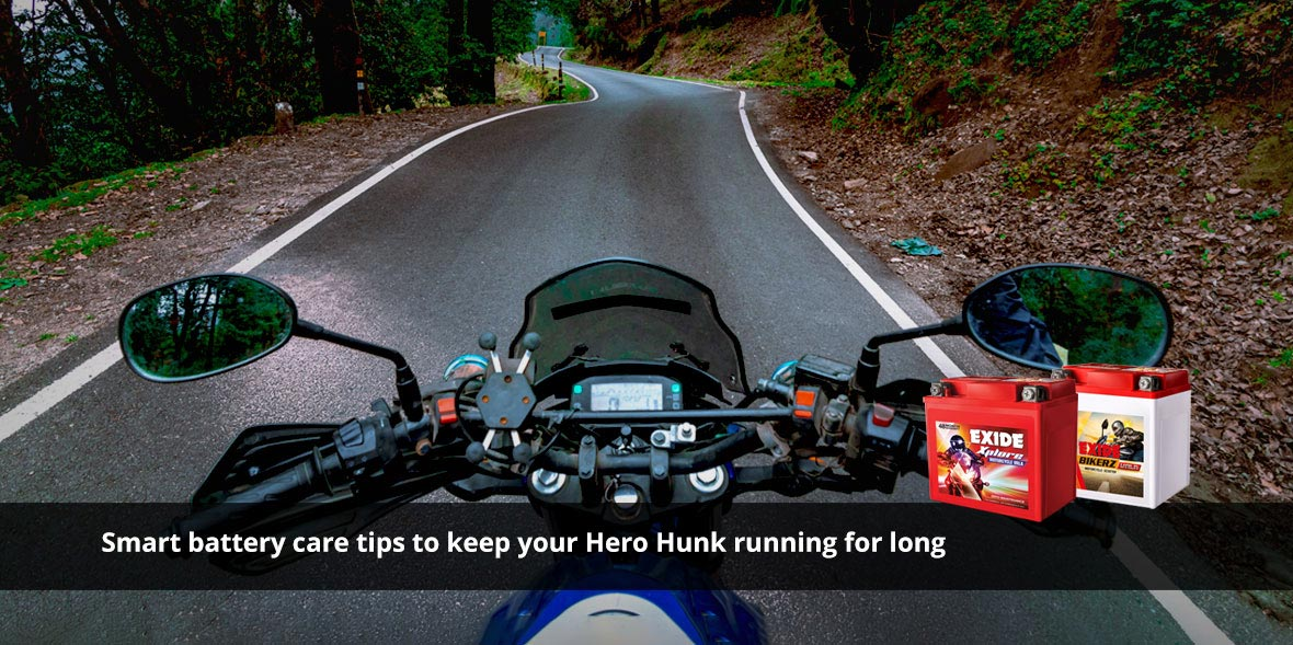 Smart battery care tips to keep your Hero Hunk run