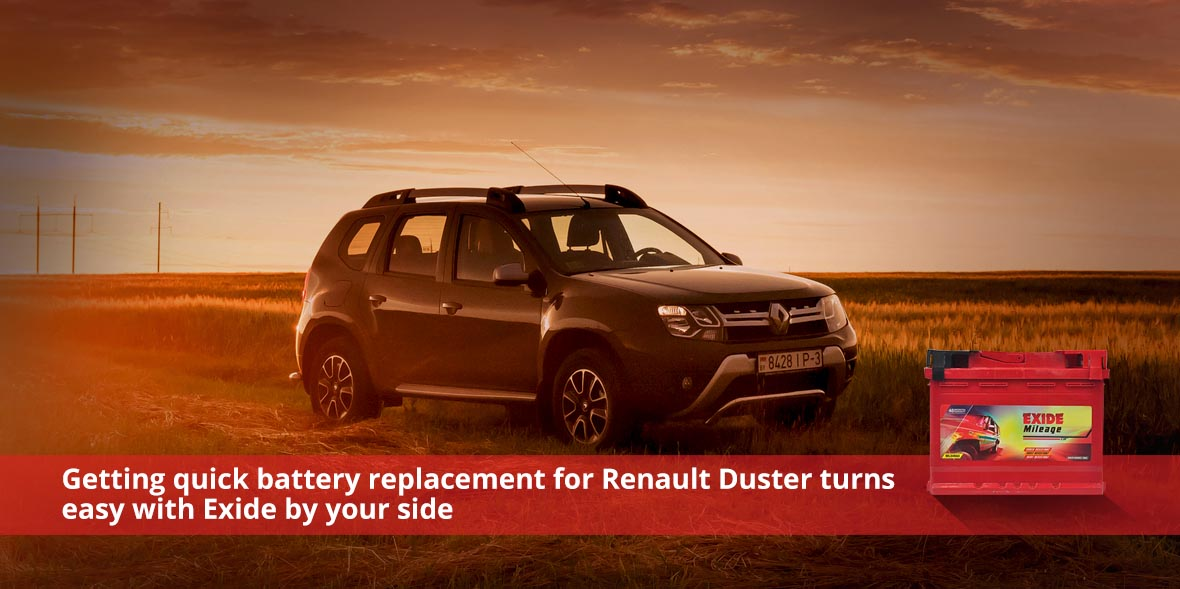 Getting quick battery replacement for Renault Dust
