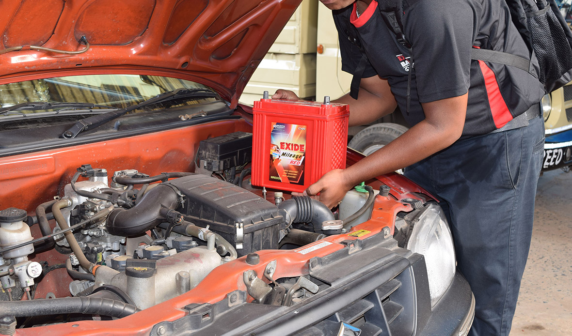 Image result for car battery well positioned