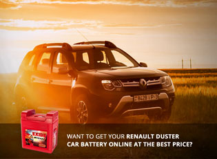 Want to Get Your Renault Duster Car Battery Online
