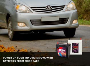 Power up your Toyota Innova with batteries from Ex