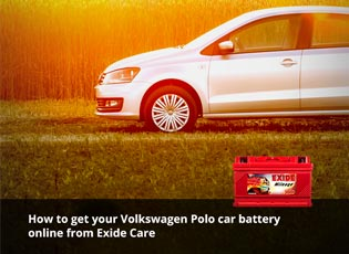 How to get your Volkswagen Polo car battery online