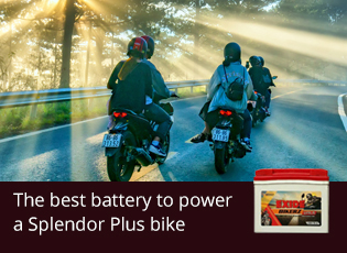 The best battery to power a Splendor Plus bike