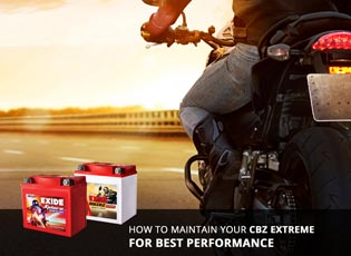 How to maintain your CBZ Extreme for best performa