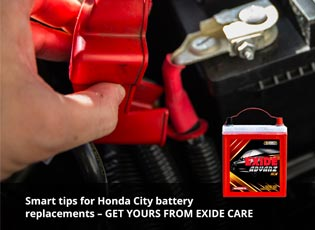 Smart tips for Honda City battery replacements - G