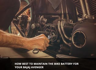 How best to maintain the bike battery for your Baj