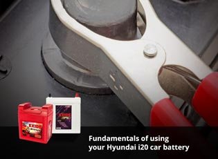 Fundamentals of using your Hyundai i20 car battery