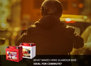 What makes Hero Glamour bike ideal for commute?