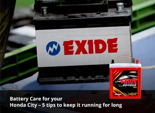 Battery Care for your Honda City - 5 tips to keep