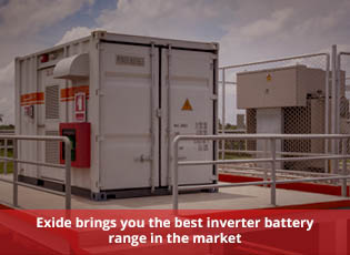 Exide brings you the best inverter battery range i