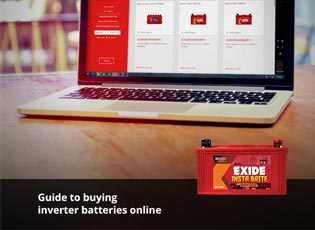 Guide to buying inverter batteries online