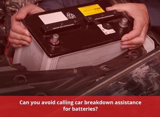 Can you avoid calling car breakdown assistance for