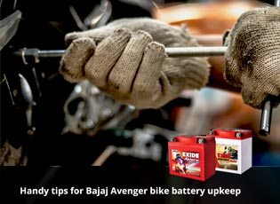 Handy tips for Bajaj Avenger bike battery upkeep