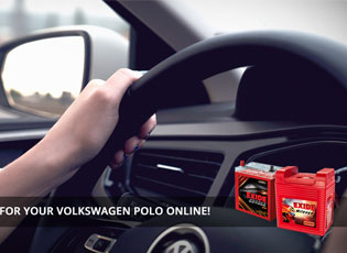 Buy an Exide Battery for your Volkswagen Polo Onli