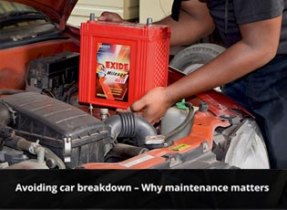 Avoiding car breakdown - Why maintenance matters