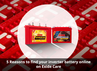 5 Reasons to find your inverter battery online on