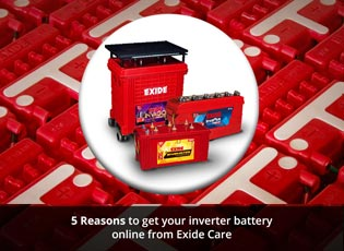 5 Reasons to get your inverter battery online from