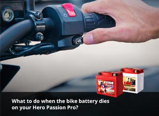 What to do when the bike battery dies on your Hero