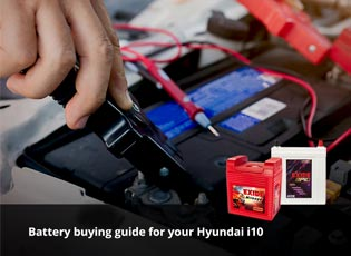 Battery buying guide for your Hyundai i10