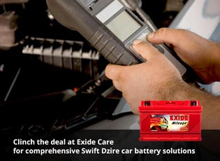 Clinch the deal at Exide Care for comprehensive Sw