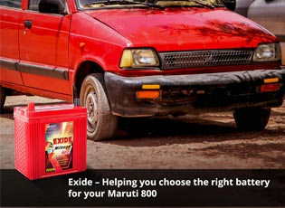 Exide - Helping you choose the right battery for y