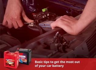 Basic tips to get the most out of your car battery