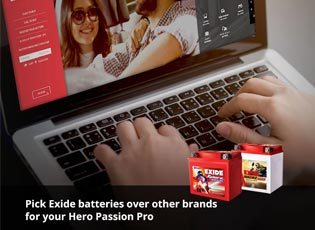 Pick Exide batteries over other brands for your He