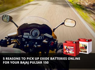 5 reasons to pick up Exide batteries online for yo