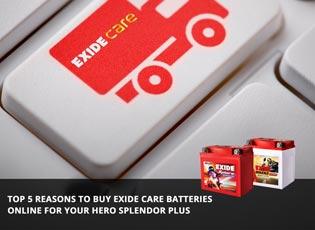 Top 5 reasons to buy Exide Care batteries online f