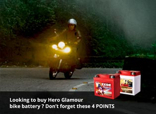 Looking to buy Hero Glamour bike battery? Don't fo