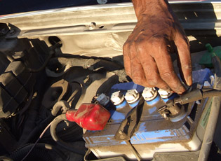 Replacing Your Battery On The Road